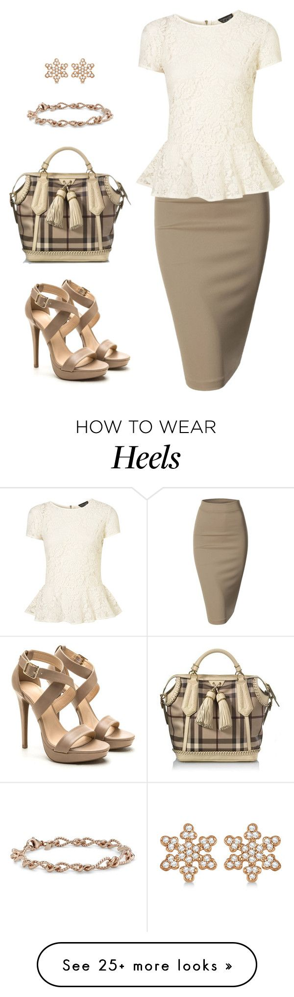 """Untitled #832"" by gallant81 on Polyvore featuring Doublju, Burberry, Blue Nile and Allurez"