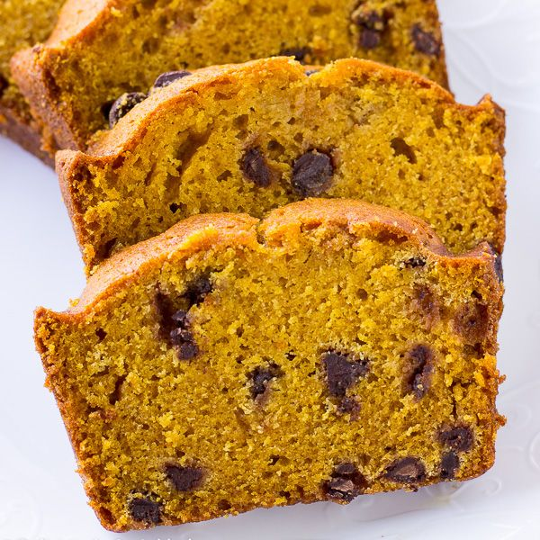 """It's September so you know what that means…everything PUMPKIN!♥ Truthfully, I make Pumpkin Spice Smoothie, Pumpkin Dip,Pumpkin Spice Buttermilk Pancakesand this delicious Pumpkin Chocolate Chip Bread all year long. I have been making this bread for years and I'm finally getting around to sharing myPumpkin Chocolate ChipBread with all of you. Ialways say, """"it's not …"""