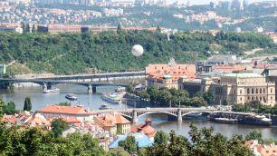 Moldau und Karlsbrücke