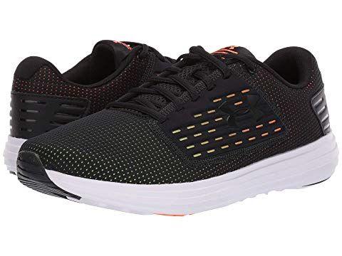 0660d7d04a UNDER ARMOUR , BLACK/ORANGE GLITCH/BLACK. #underarmour #shoes ...