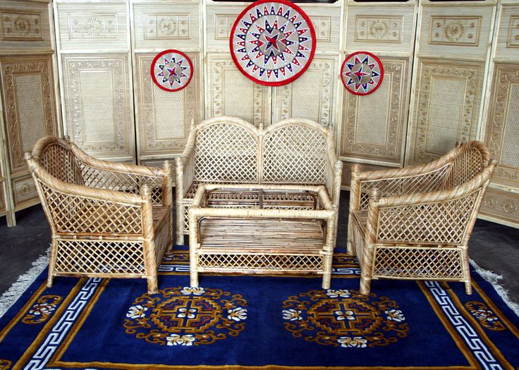 My handcrafted sofa set from Tribes India. Loved the artistry.   www.snapdeal.com/tribesindia/product 002