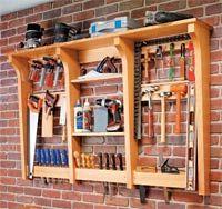 garden tool storage