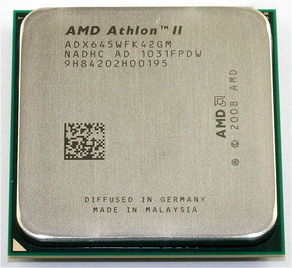 AMD Athlon II X4 645 Processor(3.1GHz/2MB/Socket AM3)Quad-Core scattered pieces