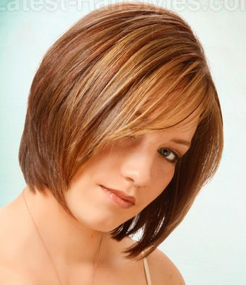 haircuts for shaped faces 15 fashionable bob hairstyles with layers bobs 1489