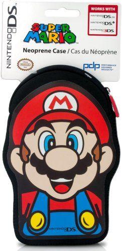 Nintendo Licensed Super Mario Neoprene System Case (Nintendo 3DS/DSi/DS Lite) @ niftywarehouse.com #NiftyWarehouse #Mario #SuperMario #Nintendo #VideoGames #Gaming #MarioBrothers