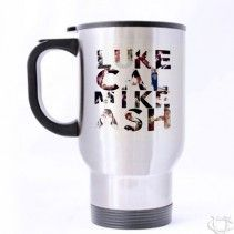5 seconds of summer initial name Travel Mug
