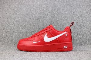 new style fa4ef 54178 Nike Air Force 1  07 LV8 Utility October Red White 315122 111 Mens Running  Shoes