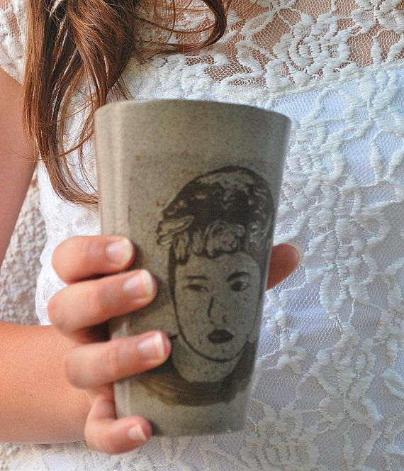 Check out this item in my Etsy shop https://www.etsy.com/il-en/listing/234181821/ceramic-coffee-tea-mug-portraits-faces