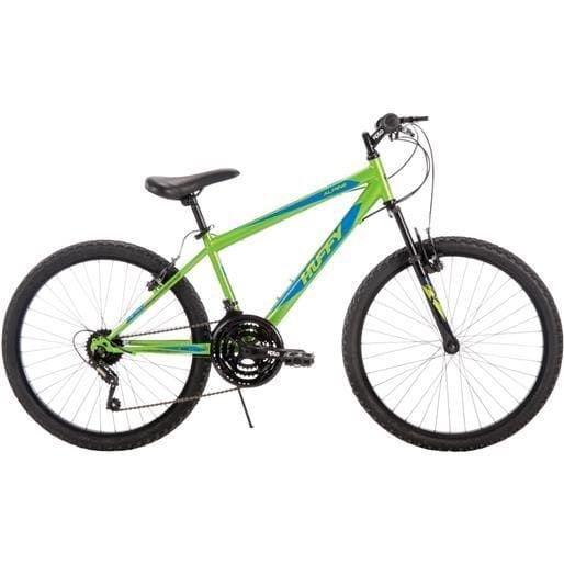Huffy Bikes 24 Mtb M Alpine Bicycle 24327 Unit: Each, Green