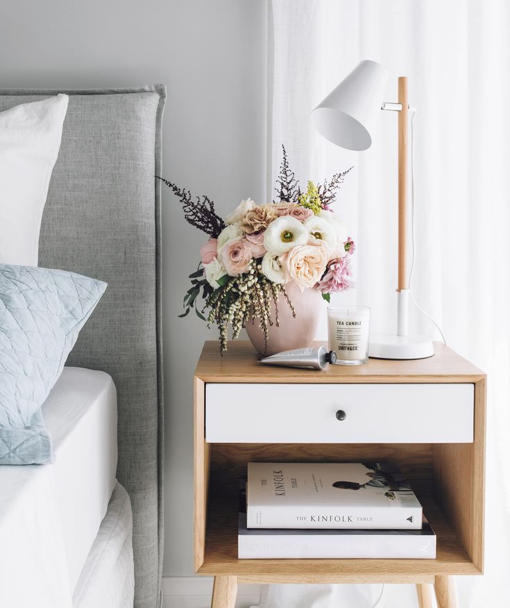 Madera lamp from Kmart, Smith & Co candle from Myer, Basque pink vase from Adairs, The Aromatherapy Hand Cream available at Myer.