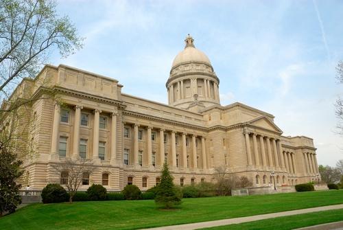 Kentucky capital building in Frankfort
