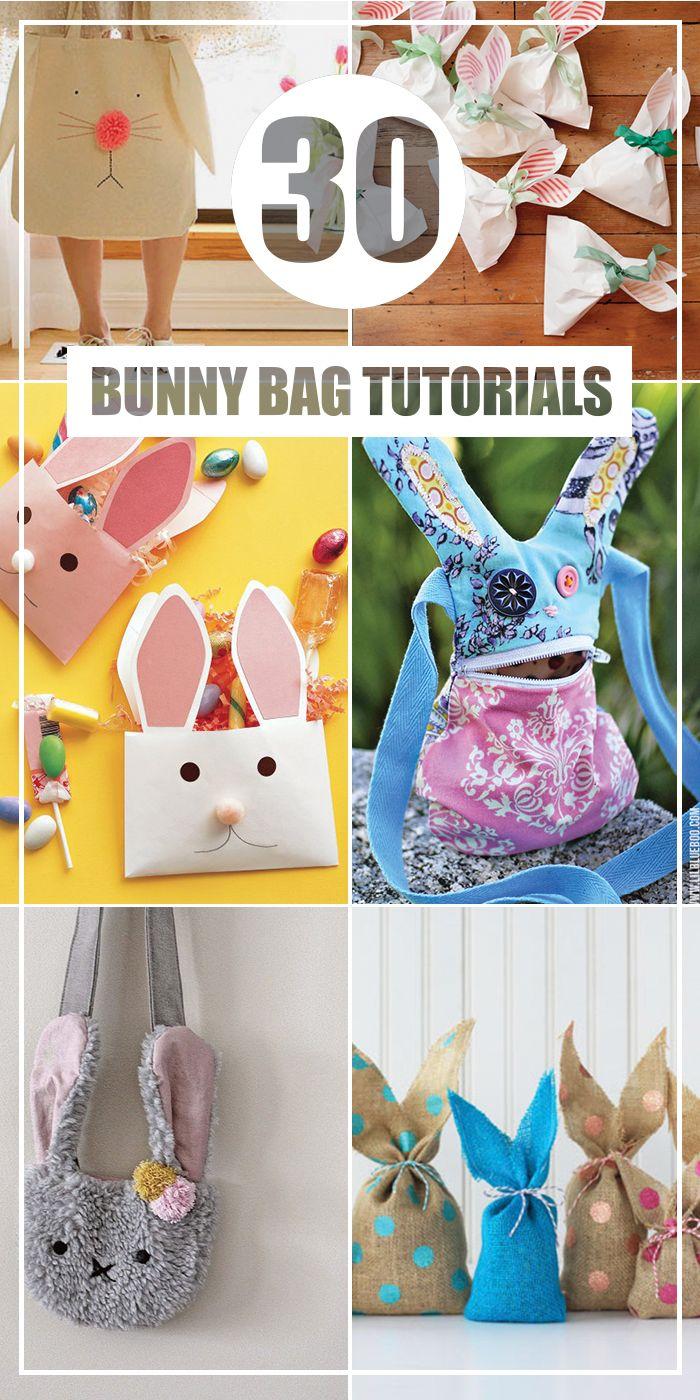 30 DIY Bunny Bag Tutorials