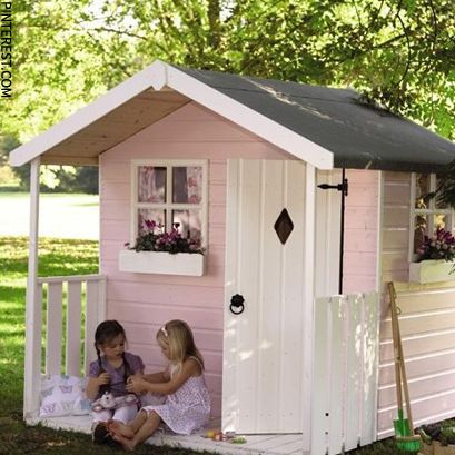 1000 ideas about wendy house on pinterest playhouse ForWooden Wendy House Ideas