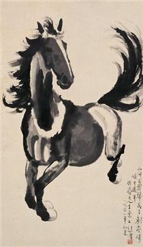 Galloping Horse - Xu Beihong