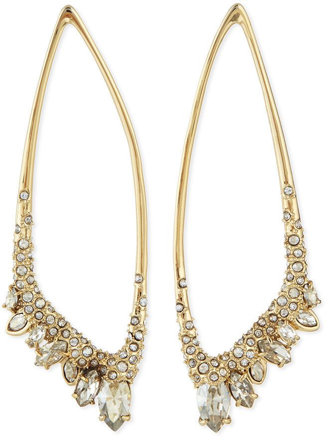 Alexis Bittar Asymmetric Jagged Marquis Cluster Earrings $136