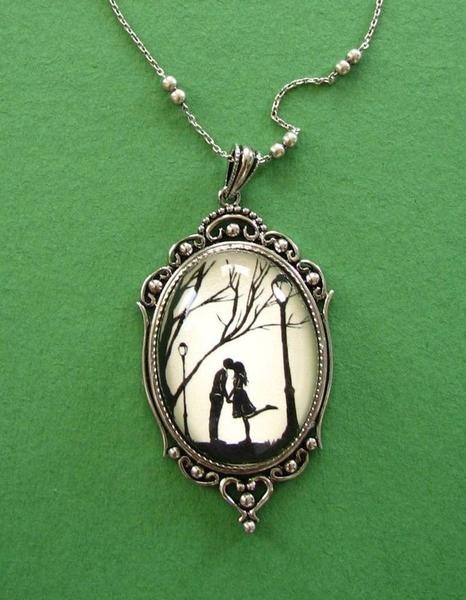 I found 'Autumn Kiss Necklace pendant on chain by tinatarnoff on Etsy' on Wish, check it out!