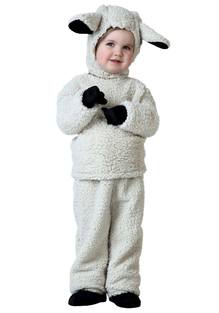 Toddler Sheep Costume | this toddler sheep costume makes a fun and cute animal costume ...