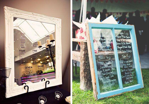 tableau mariage con specchio e finestra
