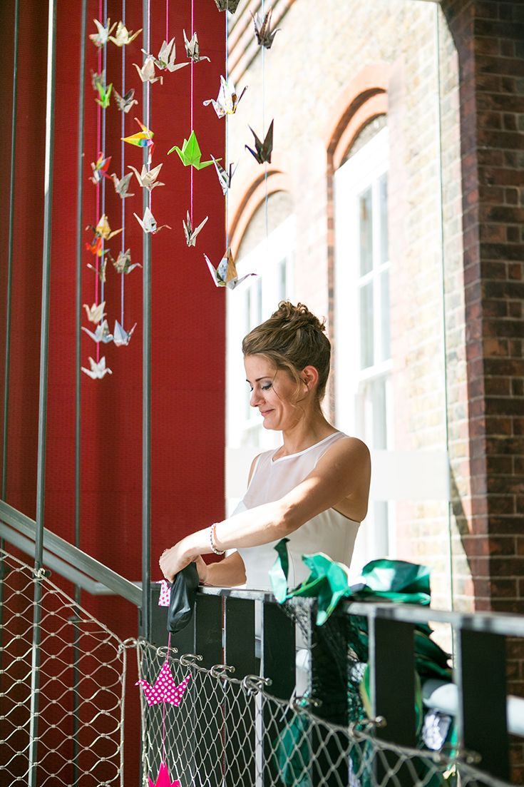 Colourful wedding: last minute alterations