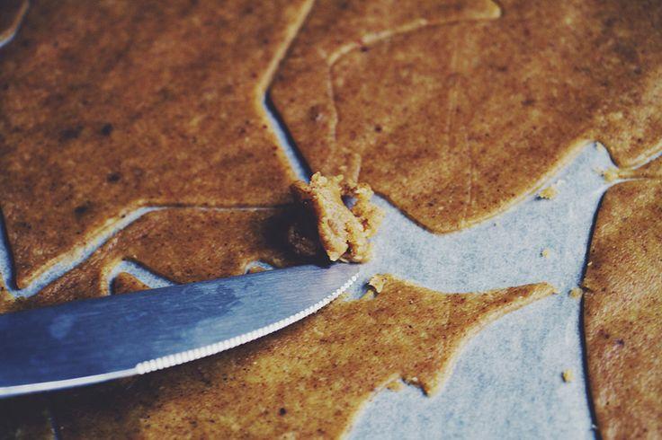 Pepparkakor / Glutenfria, mejerifria, raffinerat sockerfria, utan ägg, veganska 29 november, 2