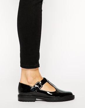 Enlarge New Look Kut T-Bar Flat Shoes
