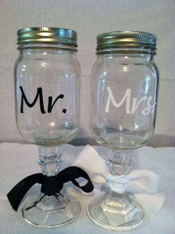 Redneck Wine Glass | Personalized redneck wine glasses, mason jar wine glasses