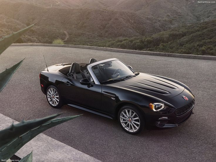 Fiat 124 Spider 2017 - so excited for this car to come out, that's what I call affordable luxury!