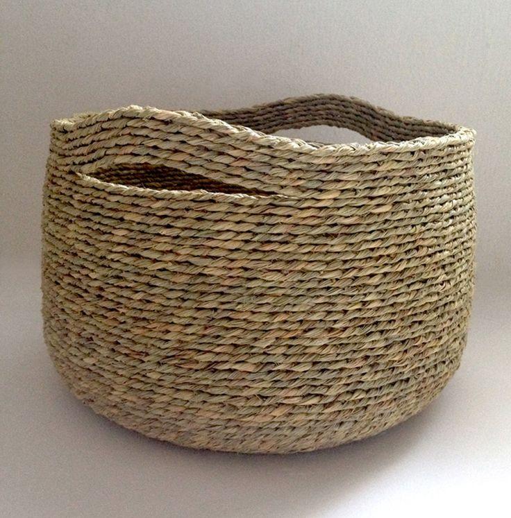 Artesania en esparto cestas hechas en esparto cuencos - Cestas de esparto ...