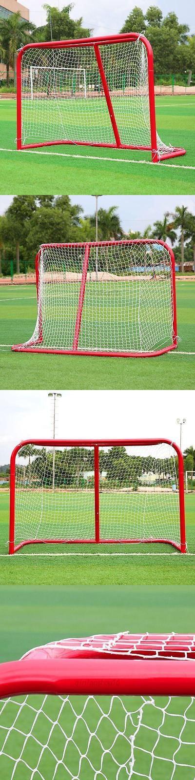 Goals and Nets 165936: Pro Roller Steel Hockey Goal Net Folding Foldable Soccer Ball Street Outdoor -> BUY IT NOW ONLY: $179 on eBay!