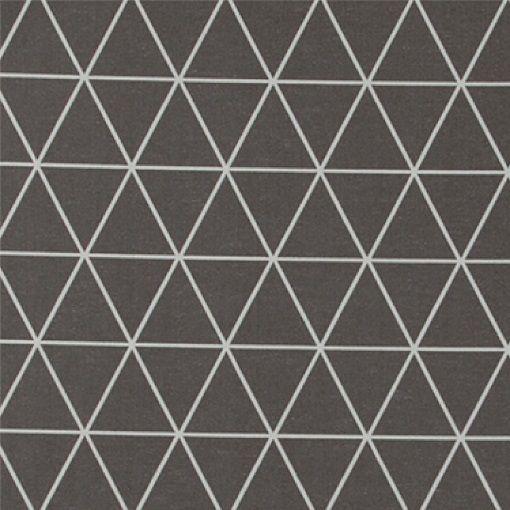 Baumwolle Grau Dreiecken Natur