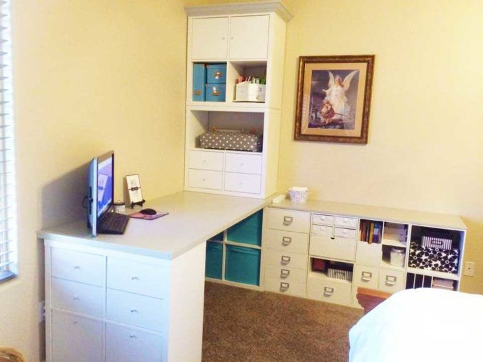 The Best Ikea Craft Room Tables And Desks Ideas Jennifer Maker Ikea Craft Room Craft Room Tables Ikea Crafts