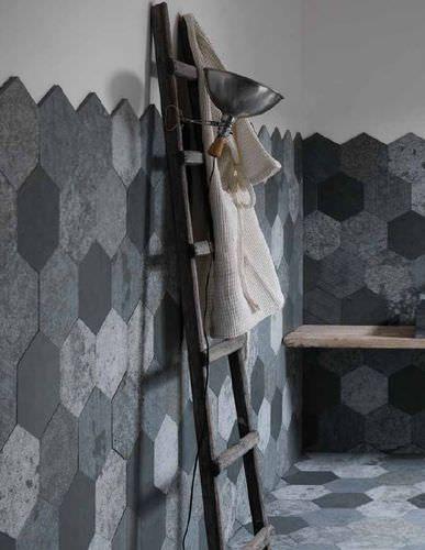 Mosaico para área interna / de parede / em ardósia / fosco THE NEUTRALS : AZUL Artesia