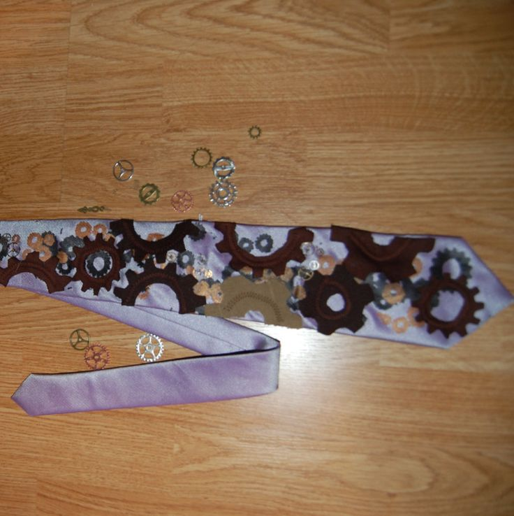 cogs Tie by Houseofbecca on Etsy