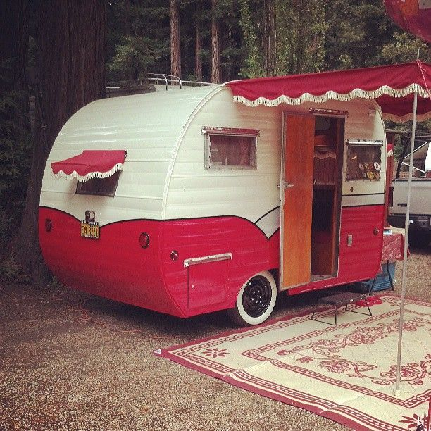 mini awnings, too...and fringe | Eclectic RetroCampProject ...