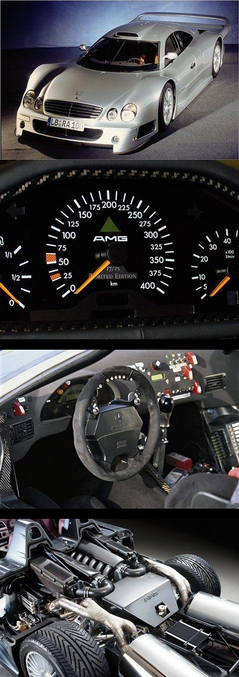 Mercedes CLK GTR o único sem bandeirada.....