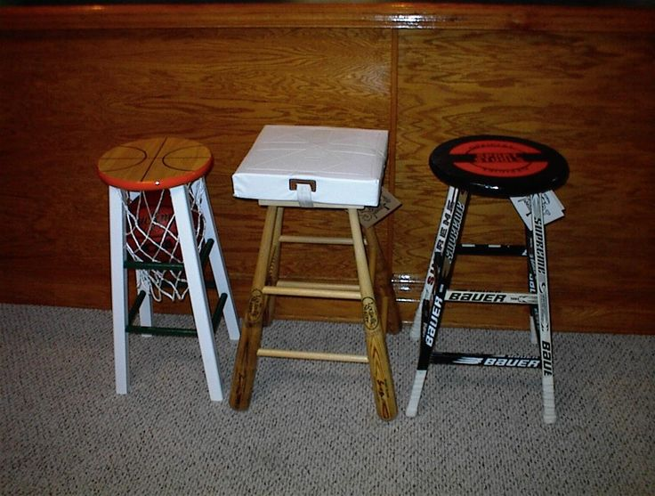 Sweet Stools For Any Fan Man Cave For Cave Man
