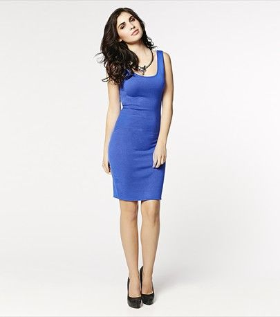 #DYNHOLIDAY Rock you bodycon with this sexy dress! Pair it with your highest pumps and a shiny clutch for the perfect party look.