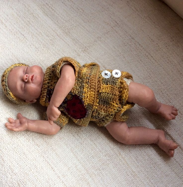 Mini baby'tje polymeerklei