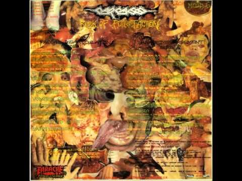 CARCASS - Reek of Putrefaction ◾ (album 1988, UK goregrind)
