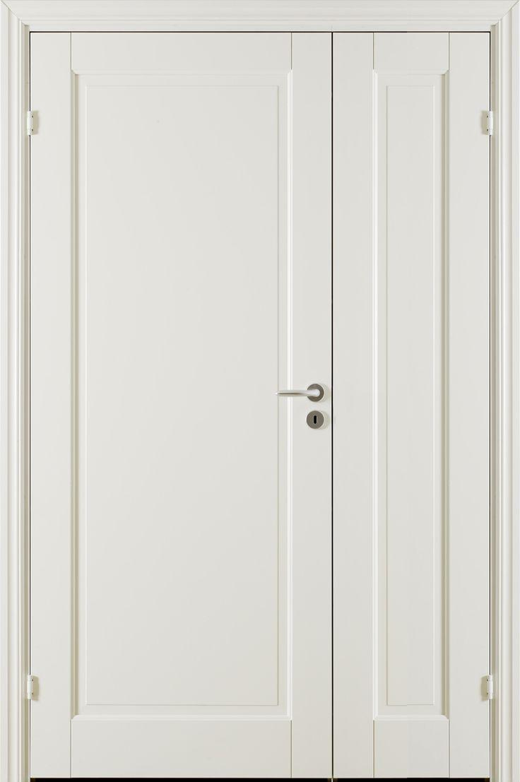 Oden 1 Double Door - Interior Door made by GK Door, Glommersträsk, Sweden.  www.gkdoor.se
