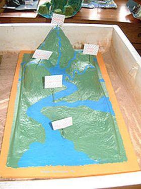 make a river basin
