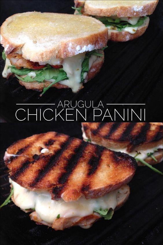 Arugula Chicken Panini Recipe | CiaoFlorentina.com