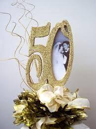 Resultado de imagen para 50th anniversary decorations