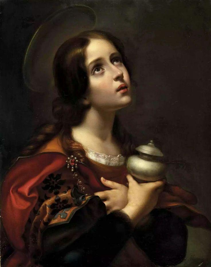 Carlo Dolci, Mary Magdalene, 1660-70. Palazzo Pitti, Florence, Italy.