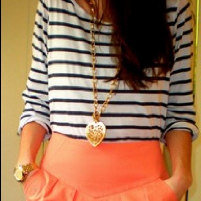 Cute auburn outfit (: