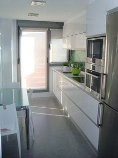 Resultado de imagen para puerta de aluminio cocina