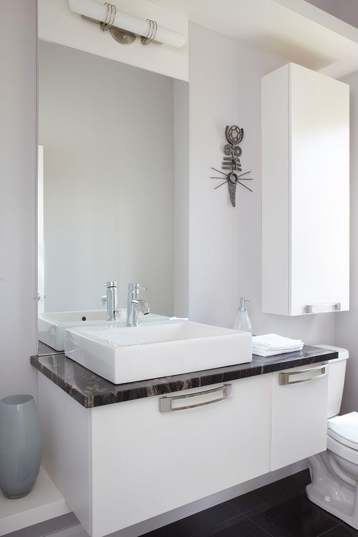 1000 id es sur le th me comptoirs en granit salle de bains for Meuble de salle d eau limoges