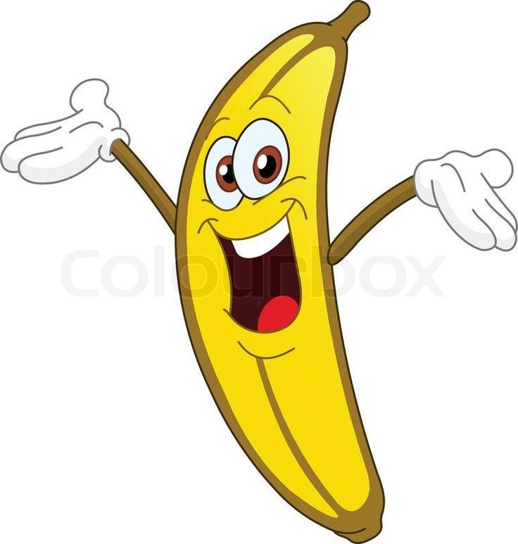 Banana Cartoon Clip Art Clipart