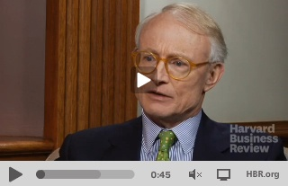 Rethinking Capitalism, with Michael Porter on HBR [video]