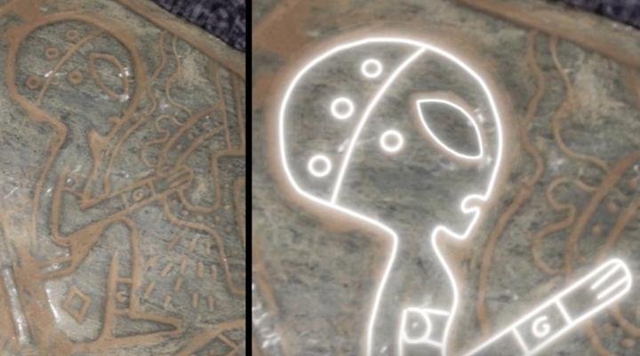 Investigadores en México encontraron una cueva que alberga piedras que poseen imágenes sobre ellas que muestran alienígenas junto con una nave espacial. Los investigadores comenzaron a buscar misteriosas cuevas escondidas entre Puebla y Veracruz, en México, después de escuchar leyendas que decían que los alienígenas habían visitado la Tierra en los tiempos antiguos y las …